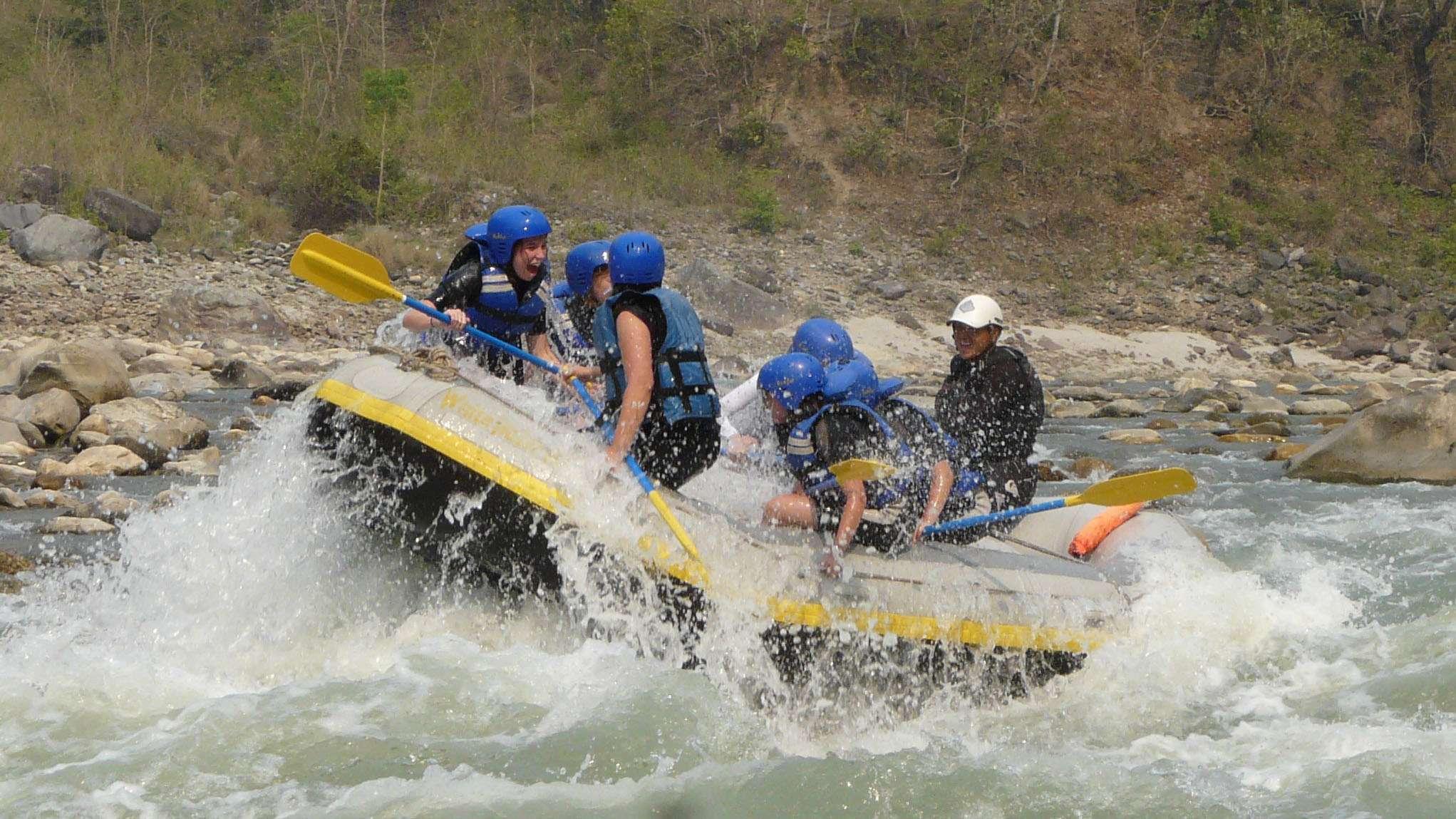 1-Day Bhote Koshi River Rafting - Nepal Itinerary
